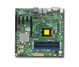 Supermicro MBD-X11SSQ Motherboard LGA 1151 Core Boards Socket H4 Supports  1x GbE LAN w/ Intel® i210-AT and Intel® PHY i219LM 6x SATA3 via Q170 Full
