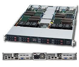 Supermicro 1U Server SYS-1026TT-TF Barebone Full Warranty