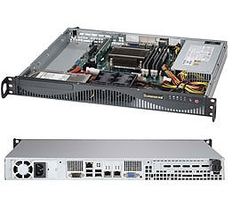 Supermicro 1U SuperServer SYS-5018D-MF Single socket H3 LGA 1150 Intel C222  Express PCH 2x Internal 3 5