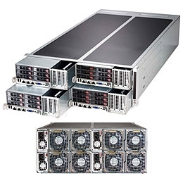 Supermicro FatTwin 4U SYS-F627G2-F73PT+ Super Server
